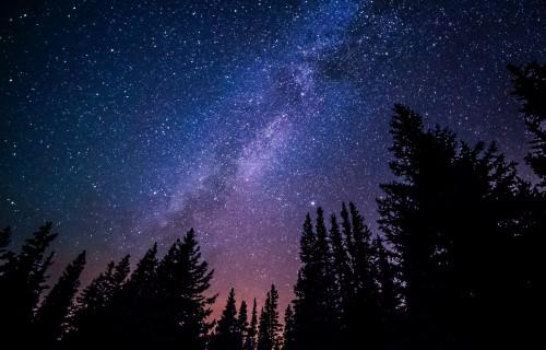 Beautiful Night Sky from RV Park